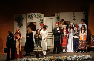 "The Theatre Club Has Staged ""The Cunning Wife of the Stupid Husband"""