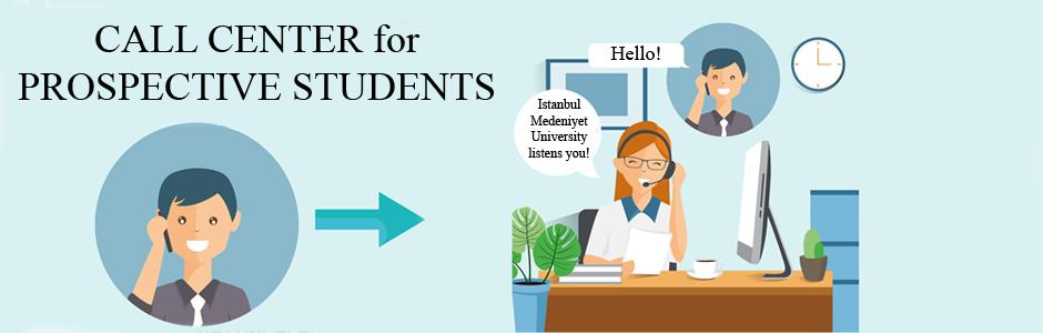 Our Call Center for Prospective Students is Active Now